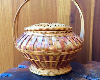 Vintage Chinese Basket
