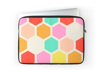 Honey Comb Laptop Cover - 13 inch, 15 inch, 17 inch