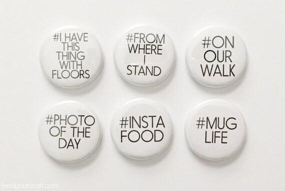 Hashtag Flair Mini 2 Badges
