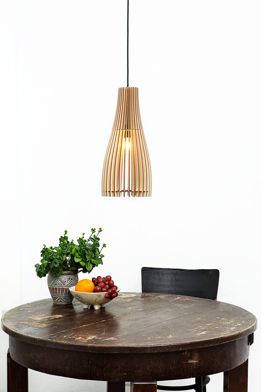 lampe en bois lampe suspendue lampe pendentif lumi re. Black Bedroom Furniture Sets. Home Design Ideas