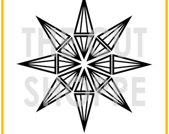 The Star Light Star Bright cut file is a background image, that can be used on your scrapbooking and papercrafting projects.