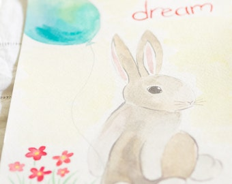 Dream (ORIGINAL Watercolor Painting)