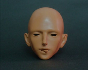 Homemade vampire BJD male head, Edition 2, new Tan skin,with 4 free parts, classic bjd collection without makeup