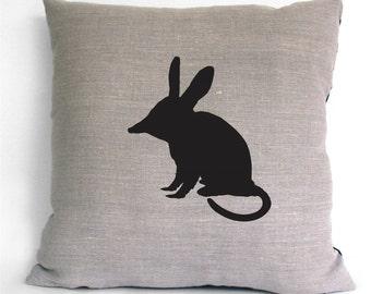 Bilby Linen Cushion Cover