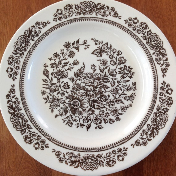 Five 5 Royal China Jeannette Sussex 10 Dinner Plates