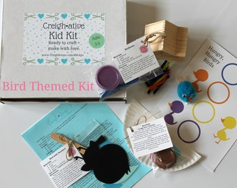 Creigh-ative Kids Kit • Craft Kit for Kids • Kid Crafts & Activities • Summer Fun • Birthday Gift • Craft, Songs, and Activities for Kids