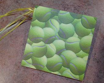 Tennis/Sports 7x7 Scrapbook, handmade sports photo album