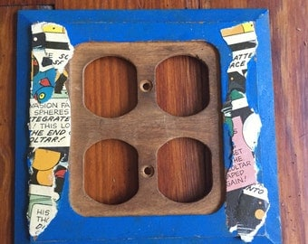 Comic Strip Outlet Cover