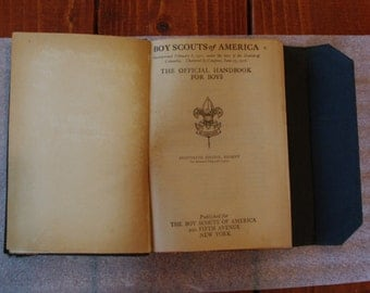 1918 Boy Scout Handbook Scouts of America 18th Edition