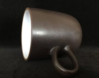 Heath ceramics mug vintage studio pottery edith heath ceramics mug coffee mug tea cup Edith Heath made in USA California pottery gift