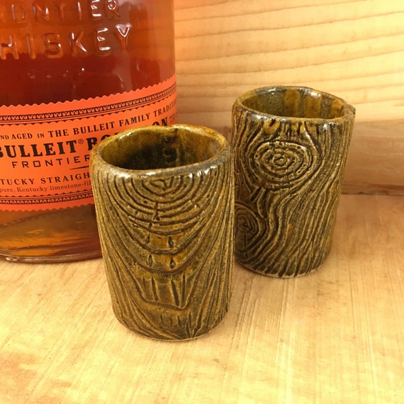 Lumberjack shot glass/whiskey glass