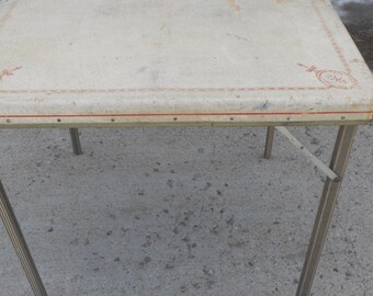 Vintage Samson Card Table
