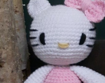 Hello Kitty inspired doll