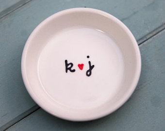 Custom Engagement Ring Holder Engagement Gift For Couple Personalized Ring Dish Wedding Gift Bridal Shower Gift