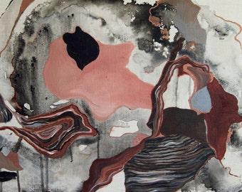 122015 Original Mixed Media Abstract Painting