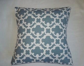 Blue Pattern Pillow Sham