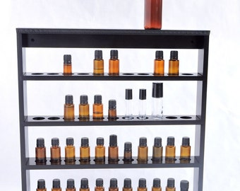 Essential Oil Storage Shelf, Display Rack, Holds 44 bottles