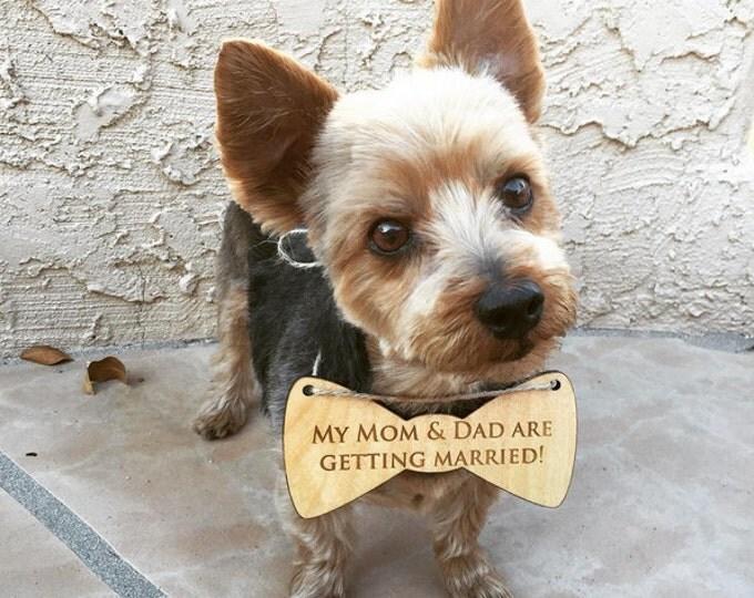 Dog Pet Photo Prop, Engagement Pet Sign, Rustic Wedding Dog Bone, Photo shoot Pet Heart, Save the Date Dog Sign, Wedding Photo Prop