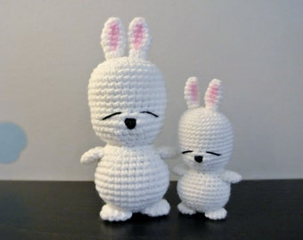 Crochet Mashimaro Amigurumi - Handmade Crochet Amigurumi Toy Doll - Mashimaro Crochet - Amigurumi Mashimaro