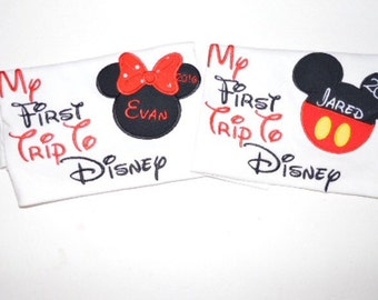 First trip to Disney Shirt/First Disney Vacation/Disney cruise