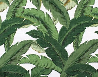 FLASH SALE!!!!!Swaying Palm Aloe, Outdoor fabric, Fabric By The Yard