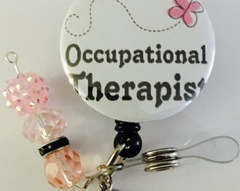 Occupational badge reel
