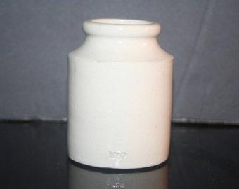 Antique Stoneware Crock Marked 1907