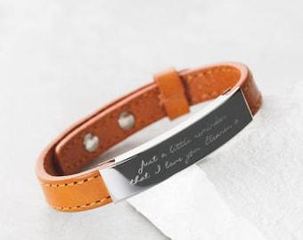 Men's Personalised Adjustable Leather Bracelet, leather bracelet,mens personalized,mens bracelet,engraved bracelet,groom gift, Mans bracelet