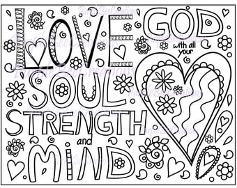 praise god coloring pages - coloring pages praise god with all your heart coloring pages