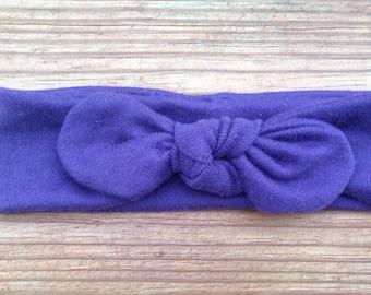 Modern Tie Knot Knit Turban Headband