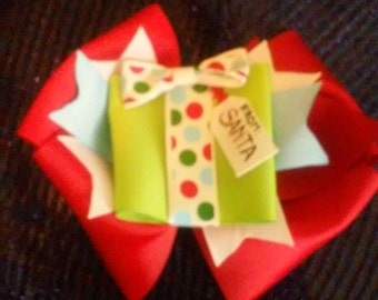 Christmas gift box bow