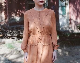 Vintage Dress In Beige