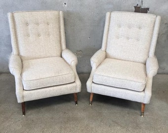 Pair of Mid Century Chairs (HLDGAV)