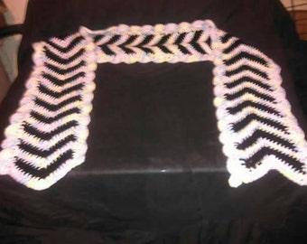 Angle Stripes Scarf