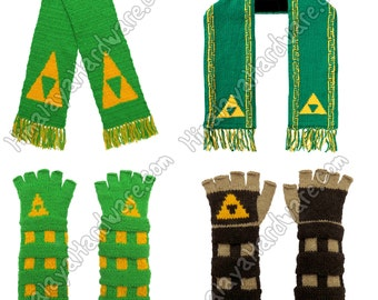 Legend of Zelda Gauntlets & Scarf