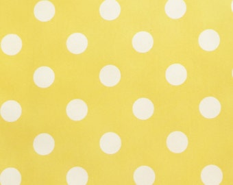 Calico Corner Yellow Dot Sunbrella Indoor/Outdoor Fabric