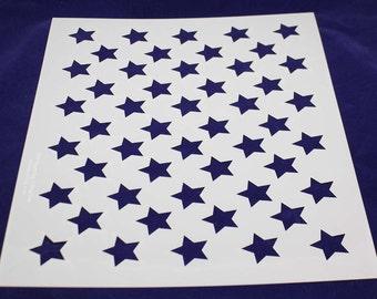 Star Field - Stencil-  14 Mil Mylar
