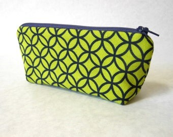 canvas zipper pouch small zipper bag cosmetic bag drop kit tampon case fabric pouch small