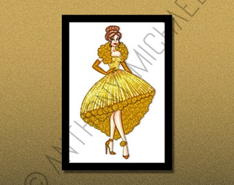 Disney Princess, Belle (Print)