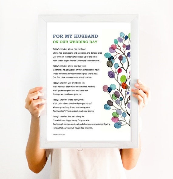 Romantic Poem: 'For My Wife/husband On Our Wedding