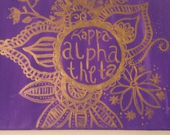 Sale!! Kappa Alpha Theta canvas