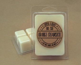 No. 150 ORANGE CREAMSICLE // Soy Wax Melt // Soy Wax Tarts // Highly Scented Wax Melts