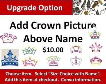 Upgrade: Add a Crown to Your Blanket!