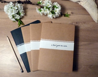 Guestbook kraft lace