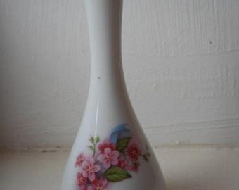 vintage small French Limoges porcelain decorative vase
