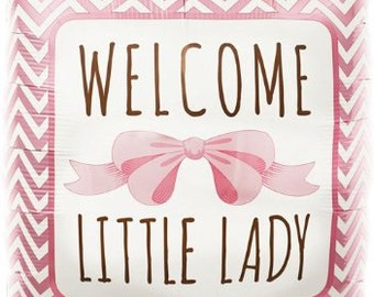 Welcome Little Lady | BABY | It's a Girl | Balloon