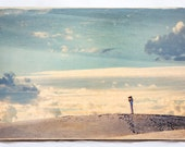 Commission Reclaimed Wood Photograph Transfer, Landscape or Portrait (your picture or mine)