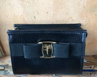 Salvatore Ferragamo wallet/pouch black