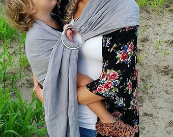 Ring Sling, Baby Carrier, Woven Ring Sling,  Baby Shower Gift,Free Shipping