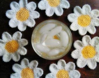 Daisy Coasters - Cheerful Daisy Coaster Set
